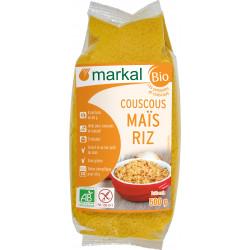 Couscous Sans Gluten - Maïs Riz Bio - MARKAL-  500g