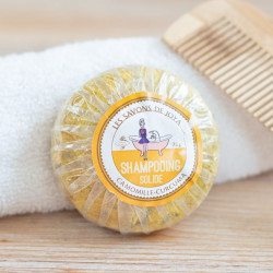 shampoing solide Camomille Curcuma Les Savons de Joya