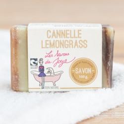 savno surgras cannelle lemongrass Les Savons de Joya