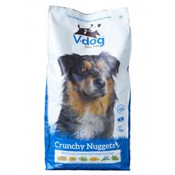 crunchy nuggets v-dog croquettes pour chien
