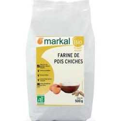 Farine de Pois Chiche Bio MARKAL - 500g