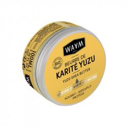 beurre de karité yuzu bio waam