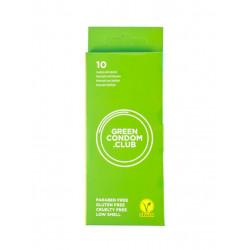 10 préservatifs green condoms Green Condom Club