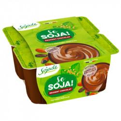 so soja chocolat sojade x4