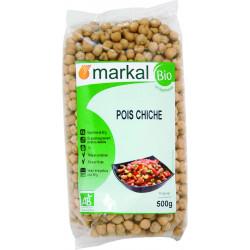 Pois Chiches bio MARKAL - 500g