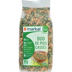 Duo Pois Cassés bio MARKAL - 500g
