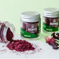 poudre d'hibiscus alimentaire Nomie