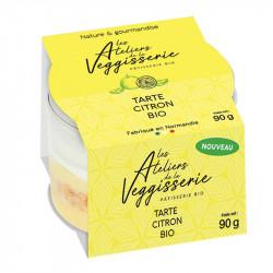 tarte citron La Veggisserie