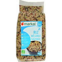 Riz Mélange Sauvage bio MARKAL - 500g
