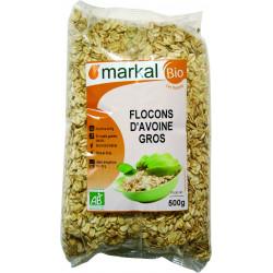 Flocons Avoine Gros bio MARKAL - 500g