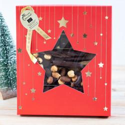 assortiment étoile de noël Façon Chocolat