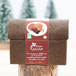 ballotin truffes praliné noisette Façon Chocolat