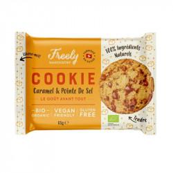 Freely handustry cookies Caramel & Pointe de Sel