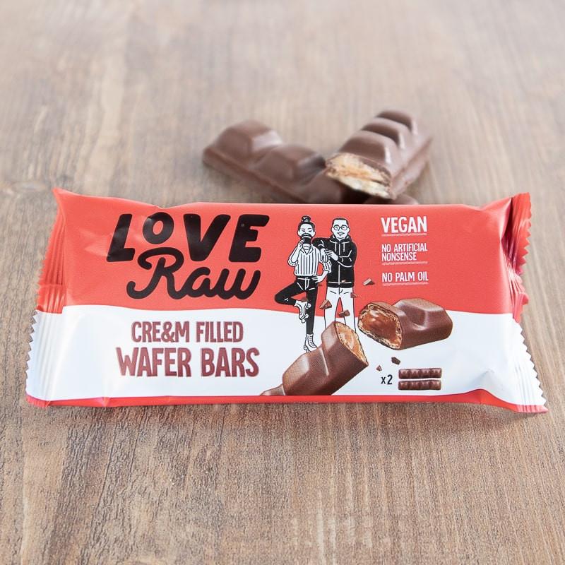 Cr&am Wafer Bars Love Raw
