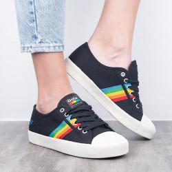 gola coaster rainbow black multi