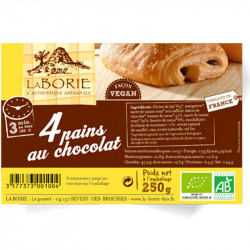 pain au chocolat vegan La Borie