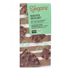 tablette chocolat noisettes grillées Veganz