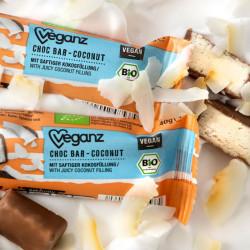 Veganz chocolat coconut barre