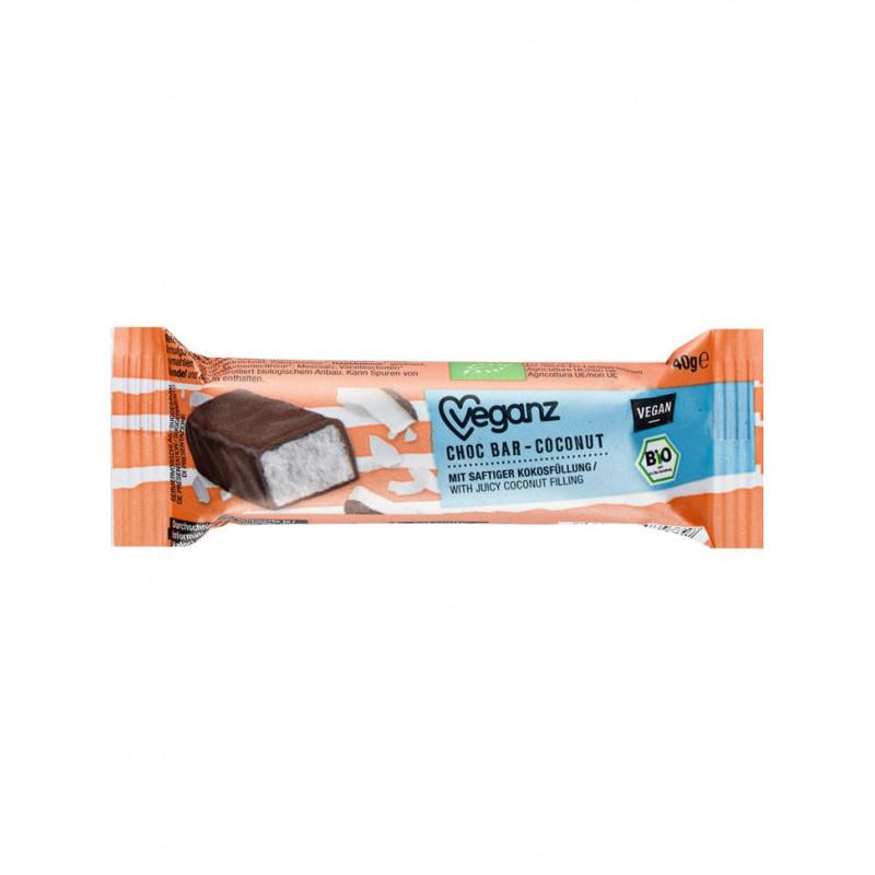 barre chocolat coco Veganz