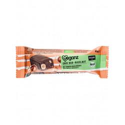 barre chocolat noisette Veganz