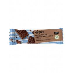 barre protéinée chocolat brownie Veganz