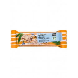 barre de céréales chanvre vanille myrtille Veganz
