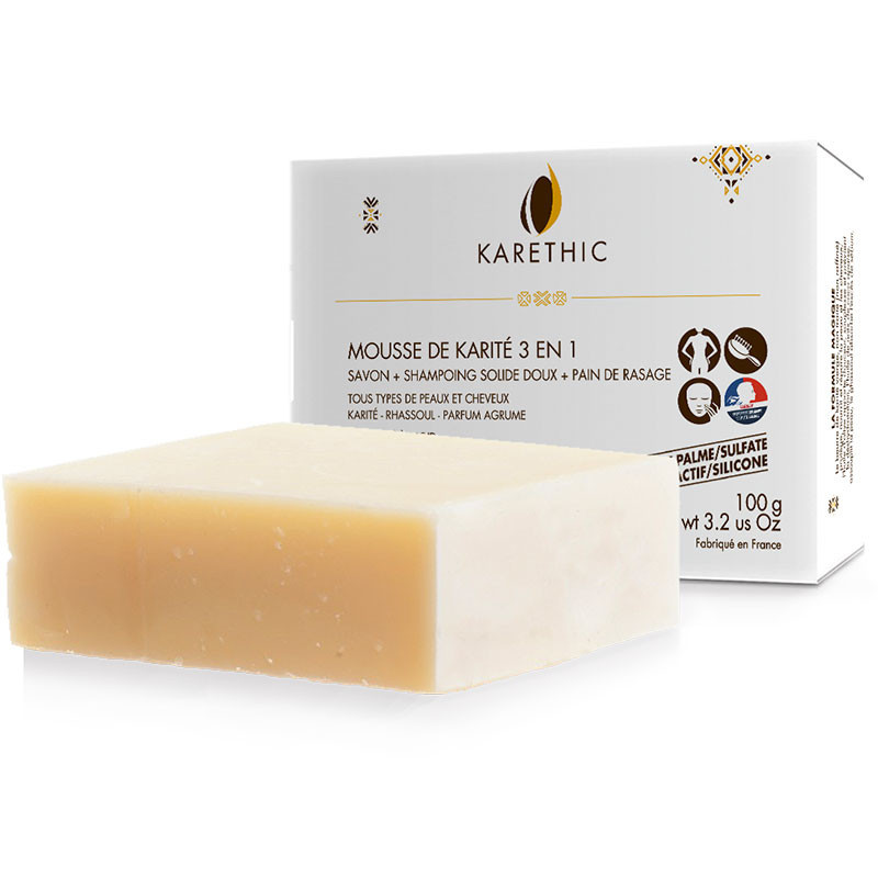 savon-shampoing Karethic - mousse de karité
