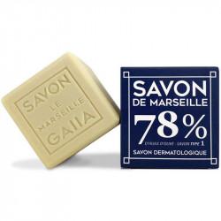 cube savon de Marseille Gaiia Pur Olive