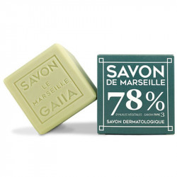 cube savon de Marseille Gaiia olive coco chanvre