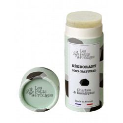 déodorant tube charbon eucalyptus Les Petits Prodiges