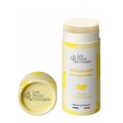 déodorant tube citron bergamote Les Petits Prodiges