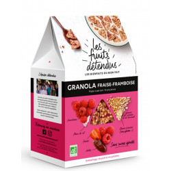Les Fruits Détendus granola fraise framboise