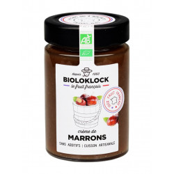 crème de marrons bio Bioloklock