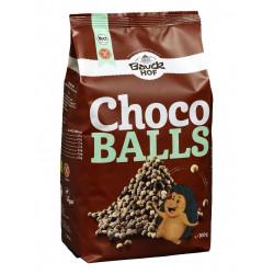 céréales soufflées bauckhof choco balls