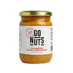 tartinable cacahuète piment d Espelette Go Nuts