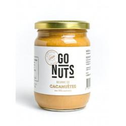 Go nuts beurre de cacahuète nature