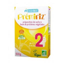 lait prémiriz 2e age Premibio