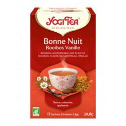 infusion Yogi Tea Bonne Nuit rooibos vanille