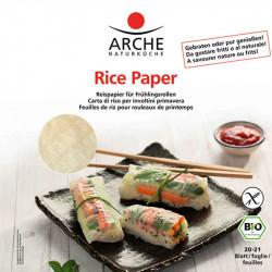 feuille de riz bio Arche