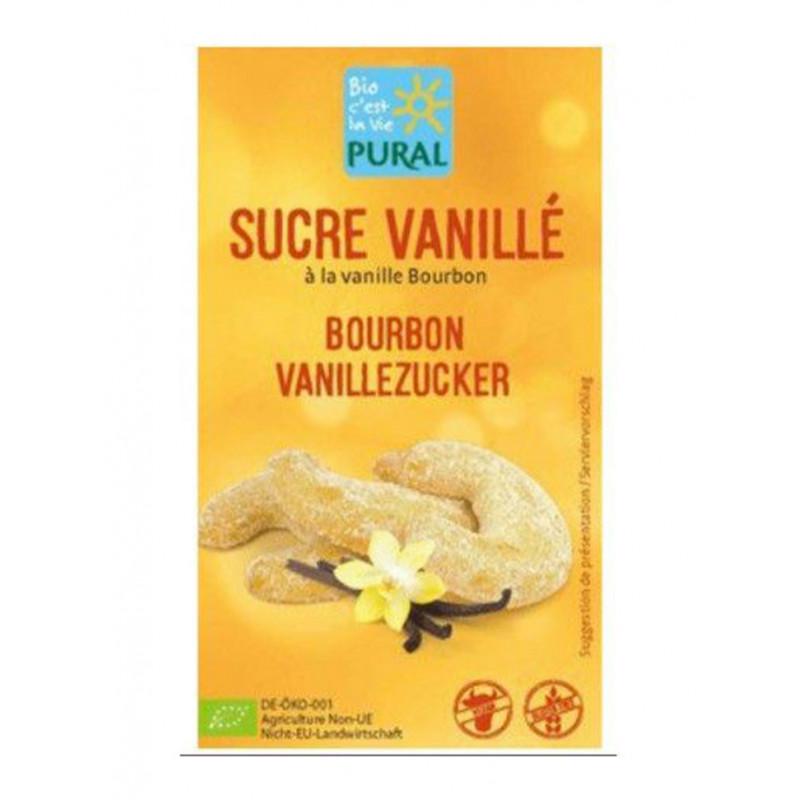 sachet sucre vanille bourbon bio Pural