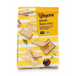 crackers cheese style Veganz