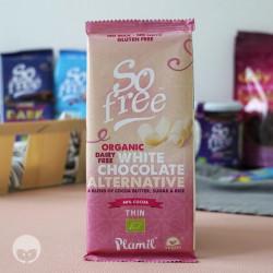 plamil tablette chocolat blanc vegan