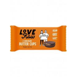 LoveRaw butter cups beurre de cacahuète