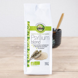 ECOIDEES - Psyllium Blond Bio en poudre - 200g