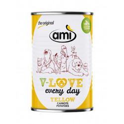 pâté pour chien Ami V-Love every day yellow