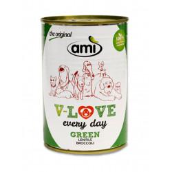 pâté pour chien Ami V-Love every day green