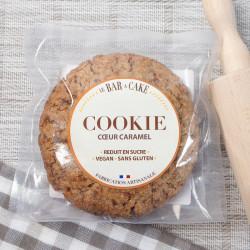 cookie caramel vegan Le bar à Cake
