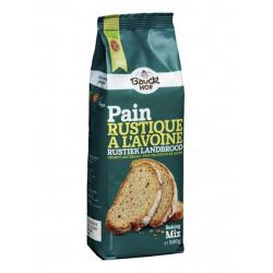 préparation pain rustique avoine Bauckhof