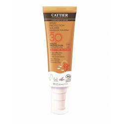 Cattier protection solaire spray spf 30