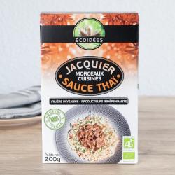 morceaux jacquier sauce thai Ecoidées